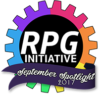 RPG Initiative Spotlight Award September 2017