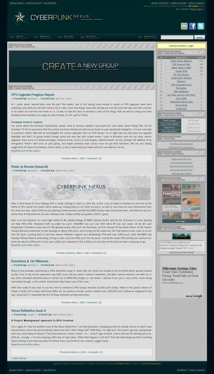 Cyberpunk Nexus (Version 2)