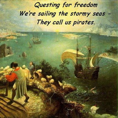 Pirate haiku